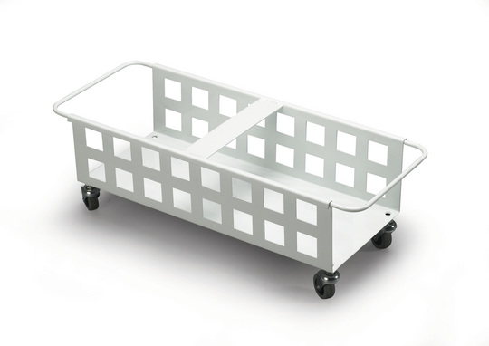 Trolley for two 40L bins