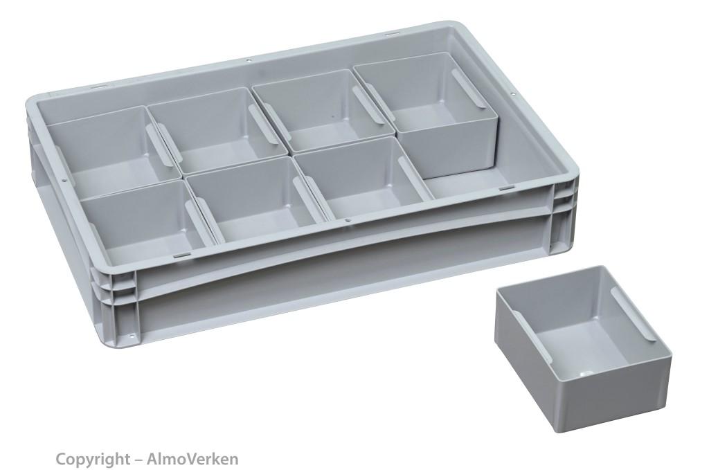 Insert boxes 1/8 176x137x80 mm