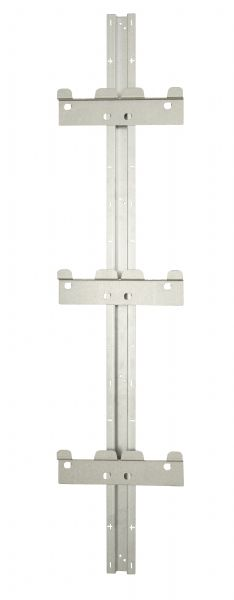 Mounting rail incl. 3 brackets