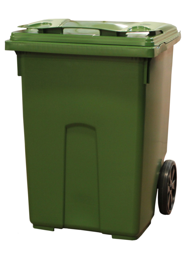 Mobile waste containers 370